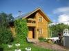 Дом для гостей из бревна