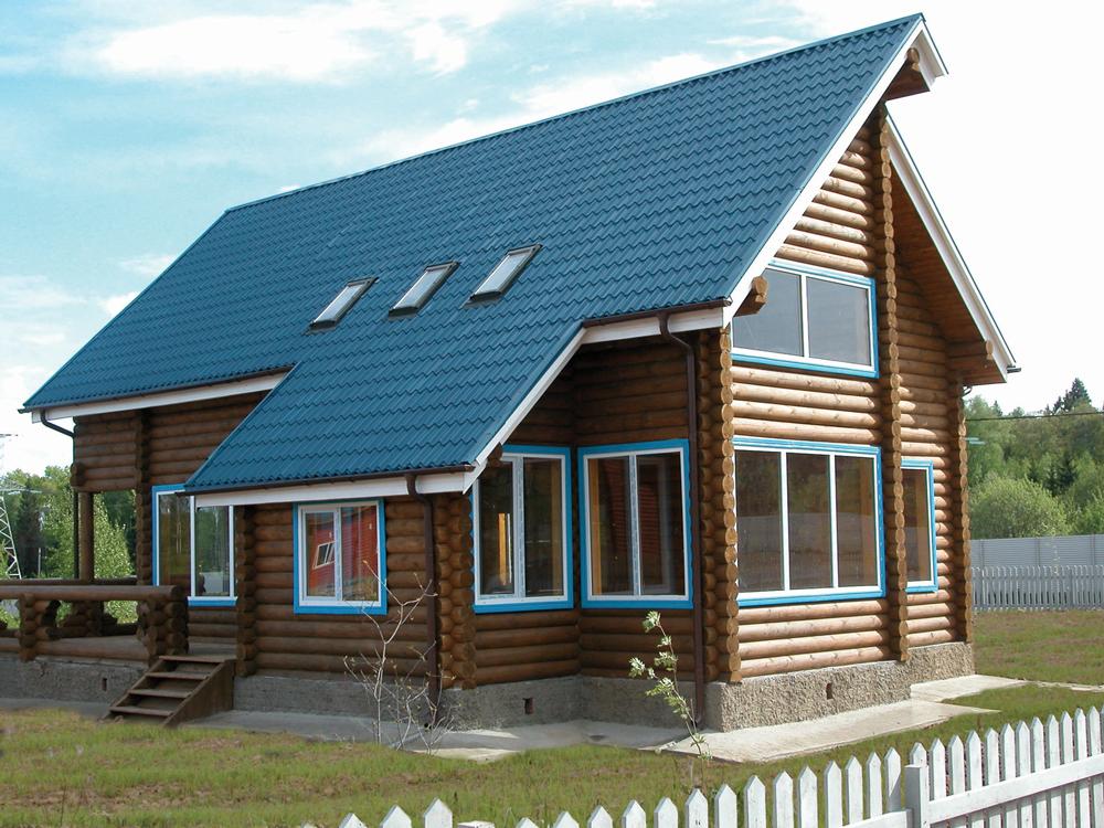 фото деревянные дачные дома