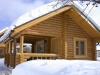 Дом дачный из бревна
